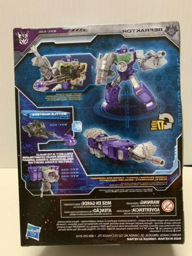 NEW AND SEALED Hasbro Transformers Siege Cybertron