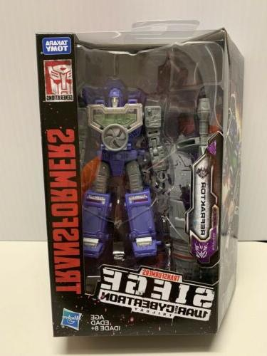 new and sealed transformers siege war
