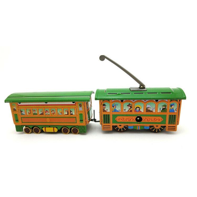 New Tram Wind-up Collection Decoration