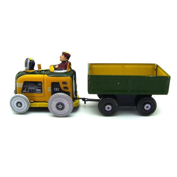 New Hand-Made Wind-up Tractor Collection