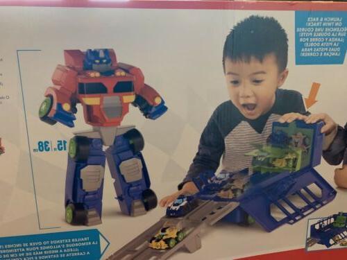 NEW Bots Optimus Prime Race Trailer