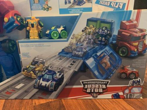 NEW Heroes Rescue Bots Transformers Race