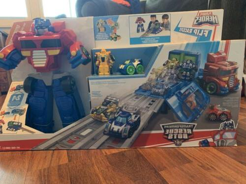 new heroes rescue bots transformers optimus prime