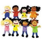 NEW FUN EXPRESS PLUSH HAPPY KIDS HAND PUPPETS SET OF 8 MULTI