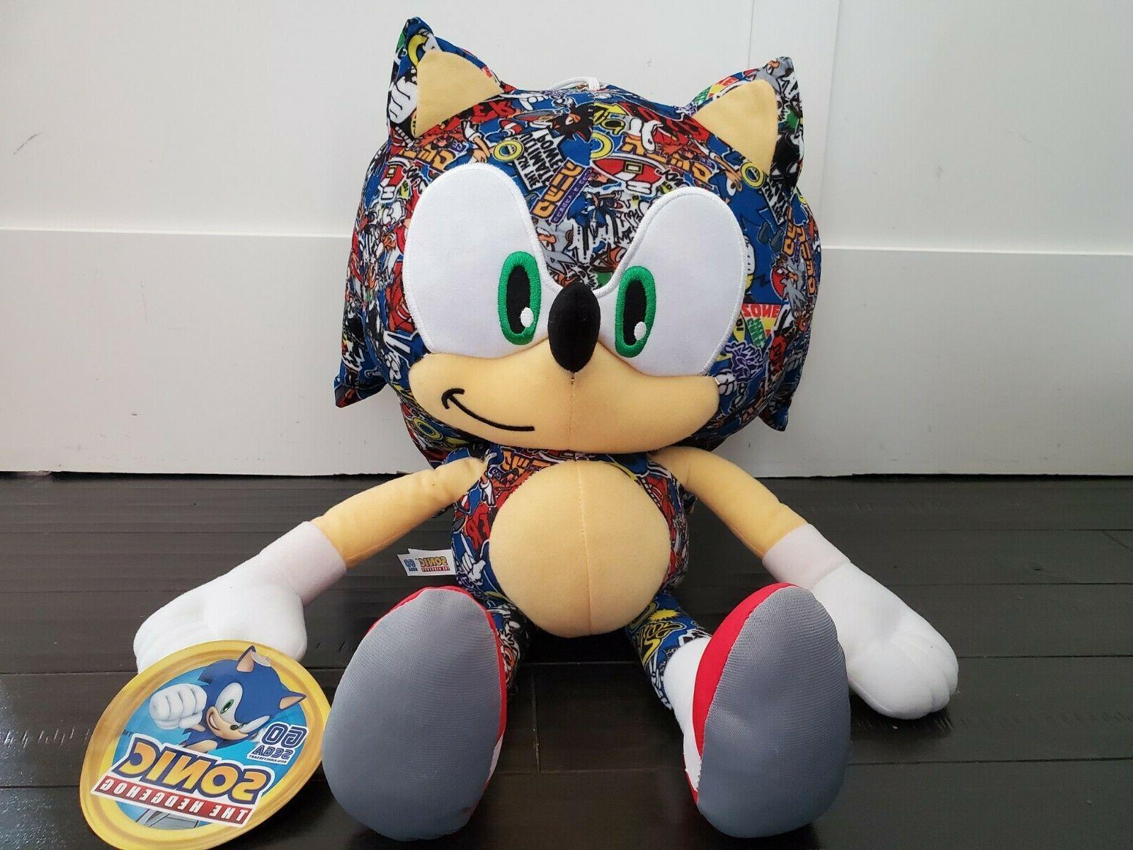 new sonic the hedgehog 12 plush stuffed