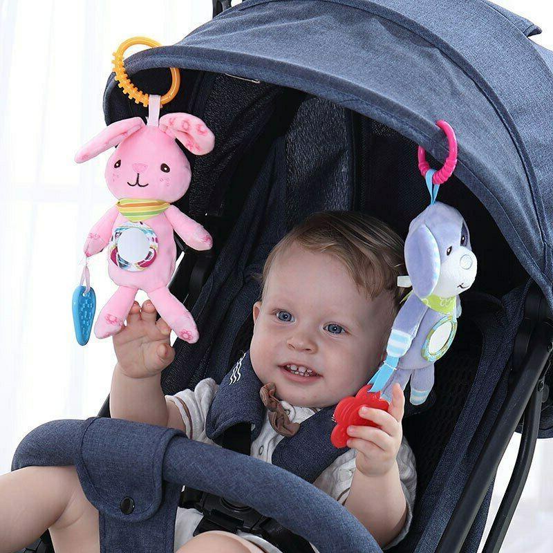 Newborn Baby Stroller Rattle Soft Mobile Toy Crib Doll