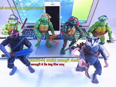 ninja turtles action figures collection