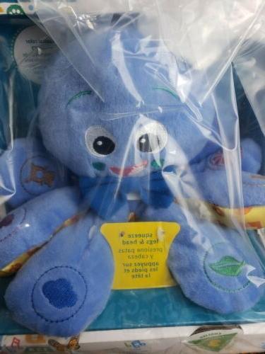 octoplush octopus musical baby toy developmental soft
