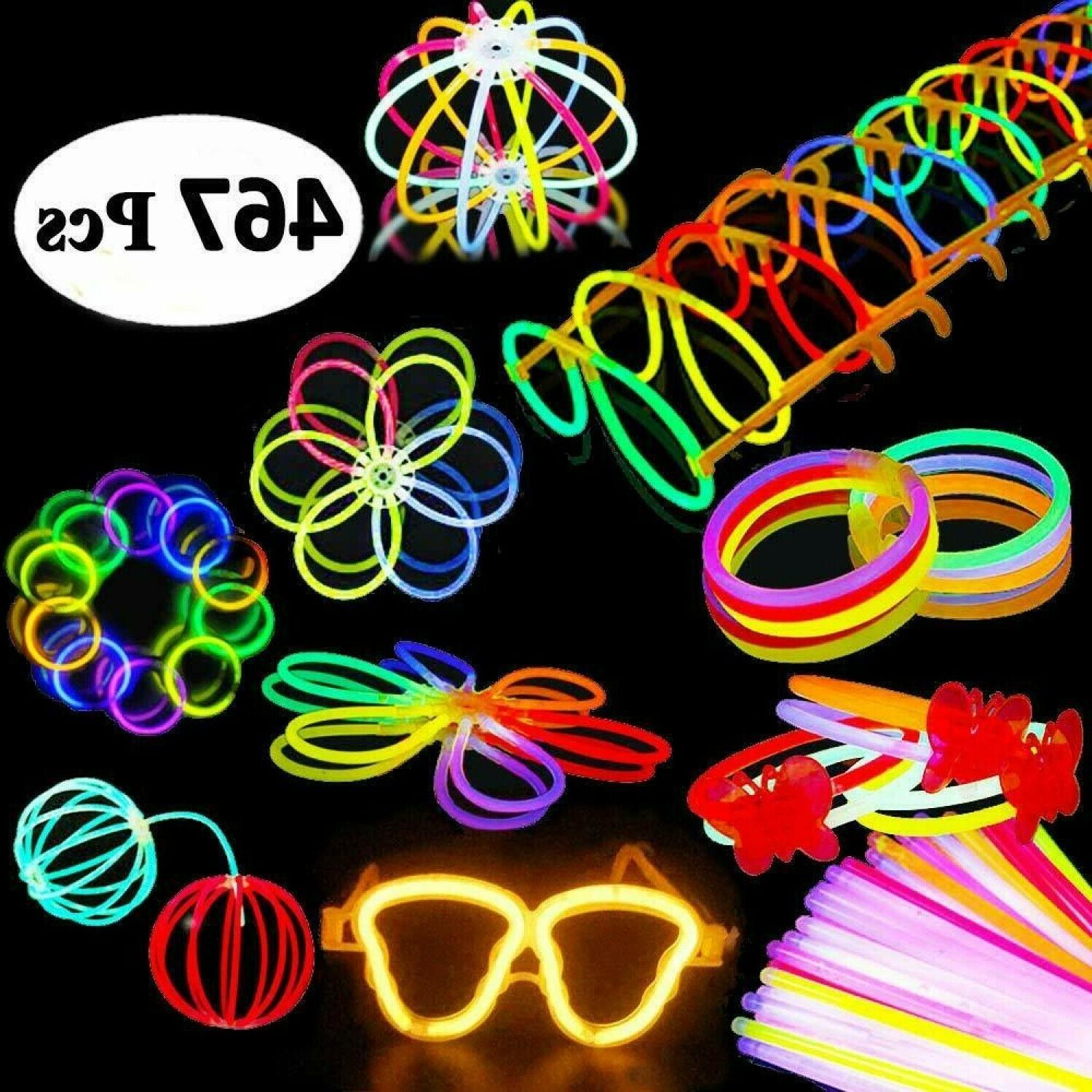 Pack Of 467 Light Up Toys Glow In The Dark Birthday Christma
