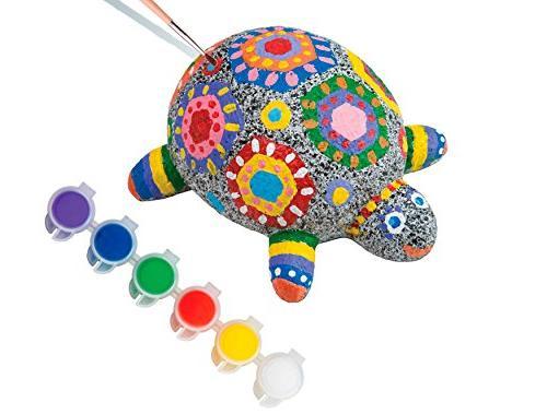 Paint A Rockpet Turtle