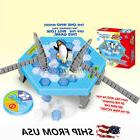 Penguin Trap Board Game Ice Breaking Save Kids Early Educati