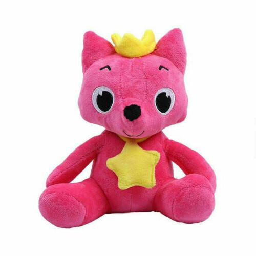 Pink Animal Stuffed Toys Fox Baby Gift