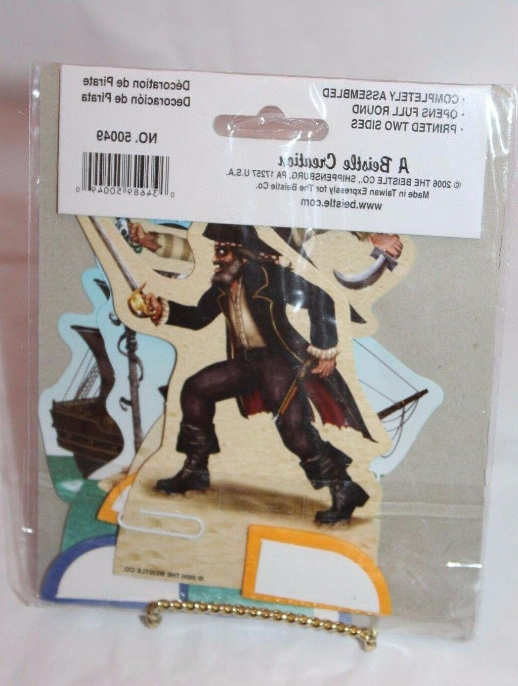pirate playmates honeycomb centerpieces