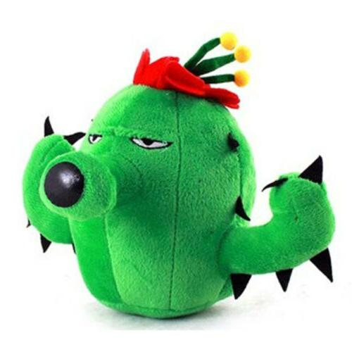plants vs zombies series plush toy green
