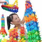 Fashion 150PCS Plastic Snowflake Building Blocks Puzzle Baby