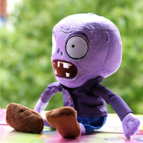 Plants vs Purple Zombies Toys Soft Doll Pillows Baby