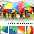 Rainbow Parachute Outdoor Game Exercise Sports Toy 14ft Hand