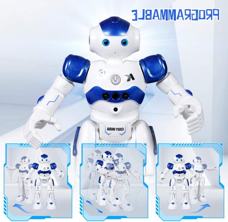 rc robot toy programmable smart infrared sensing