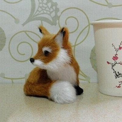 Realistic Stuffed Soft Fox Home New