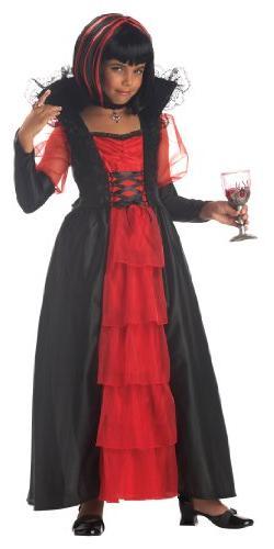 Regal Vampira Girl Costume - Medium Plus