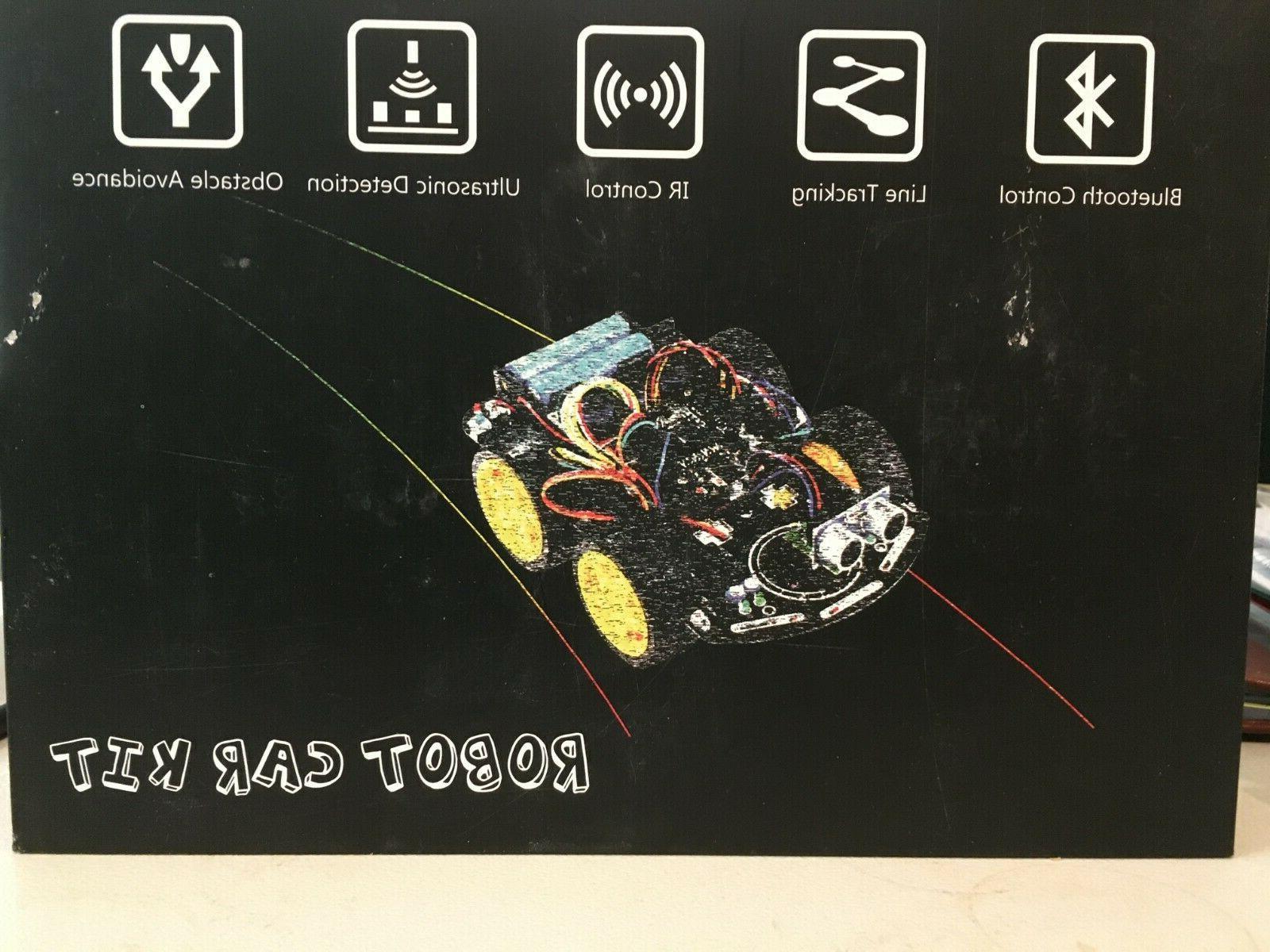 robot car kit electronics starter learning pack