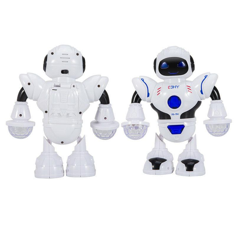 Toys Boys Walking Robot Sounds Kids Xmas Gift US