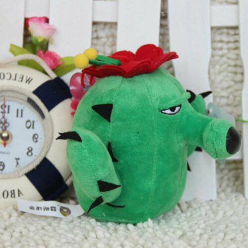Plants Zombies Series Plush Green Cactus Doll