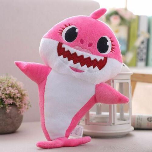 Shark Toys Soft Plush Singing Cute Cartoon Baby/Kid