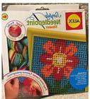 Simply Needlepoint Kit-Flower, Alex Toys, ages 5+ NEW
