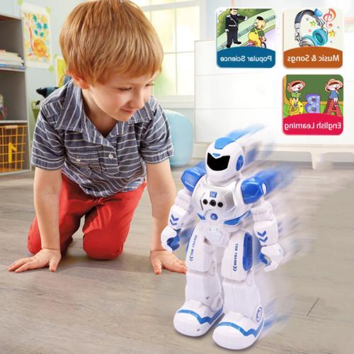 Smart RC Talking Dancing Robots Kids Remote Toys