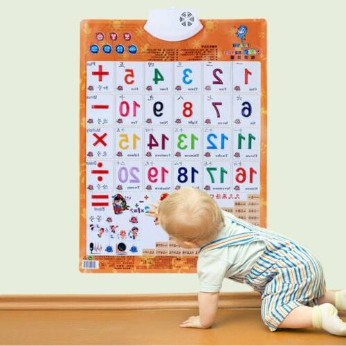 Sound Wall Chart Educational Toys