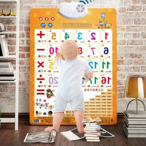 Sound Wall Chart Chart Multifunction Learning Toys