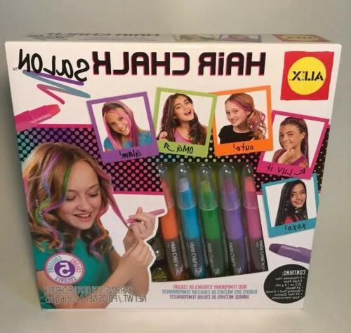 spa hair chalk salon craft kit new