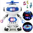 Space Dancing Robot Toy With Music Light Electronics for Boy