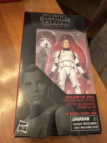 star wars black series luke skywalker death