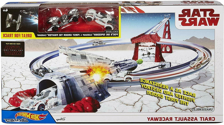 star wars crait assault raceway