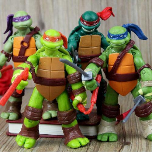Teenage Mutant Ninja Turtles 4 PCS TMNT Classic Collection A