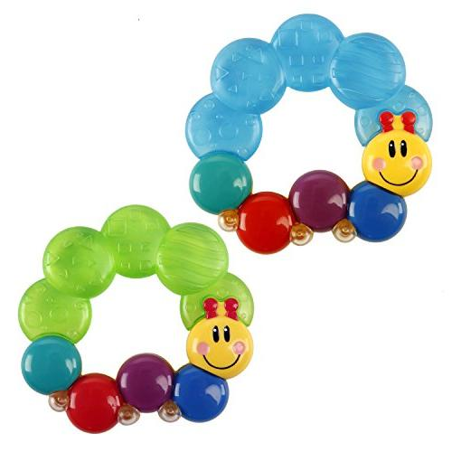 Baby Einstein Teether-pillar Toy,colors may