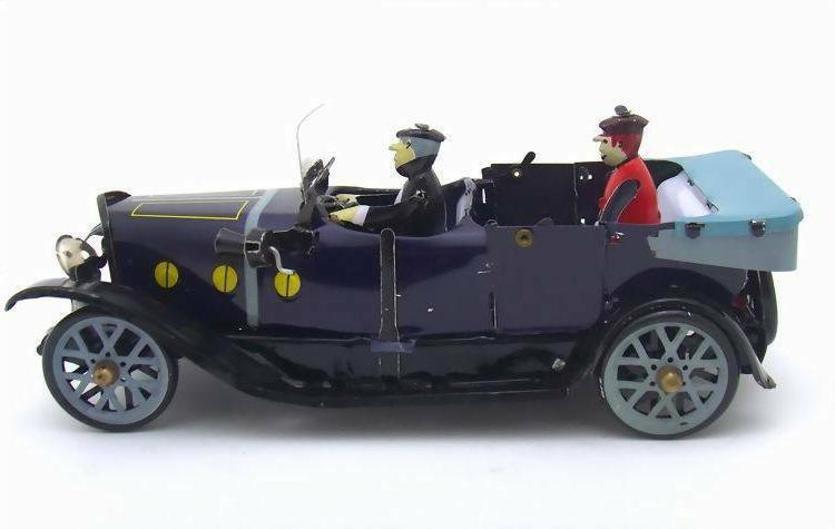 Tin Convertible Car Toy Vintage Decoration Adult