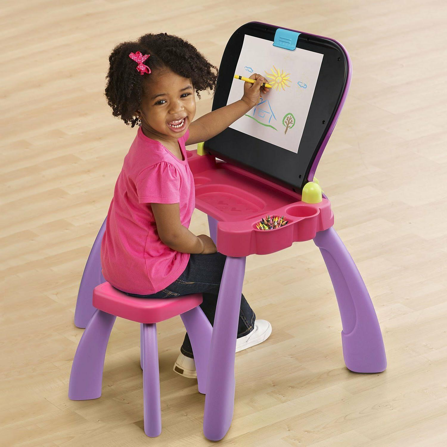 VTech and Activity Desk Developmental Desk Purple
