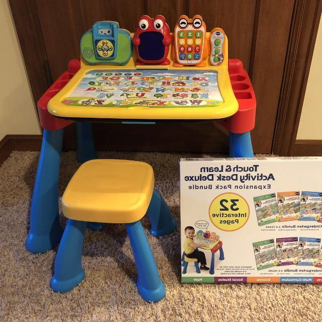 touch and learn activity desk deluxe frustration