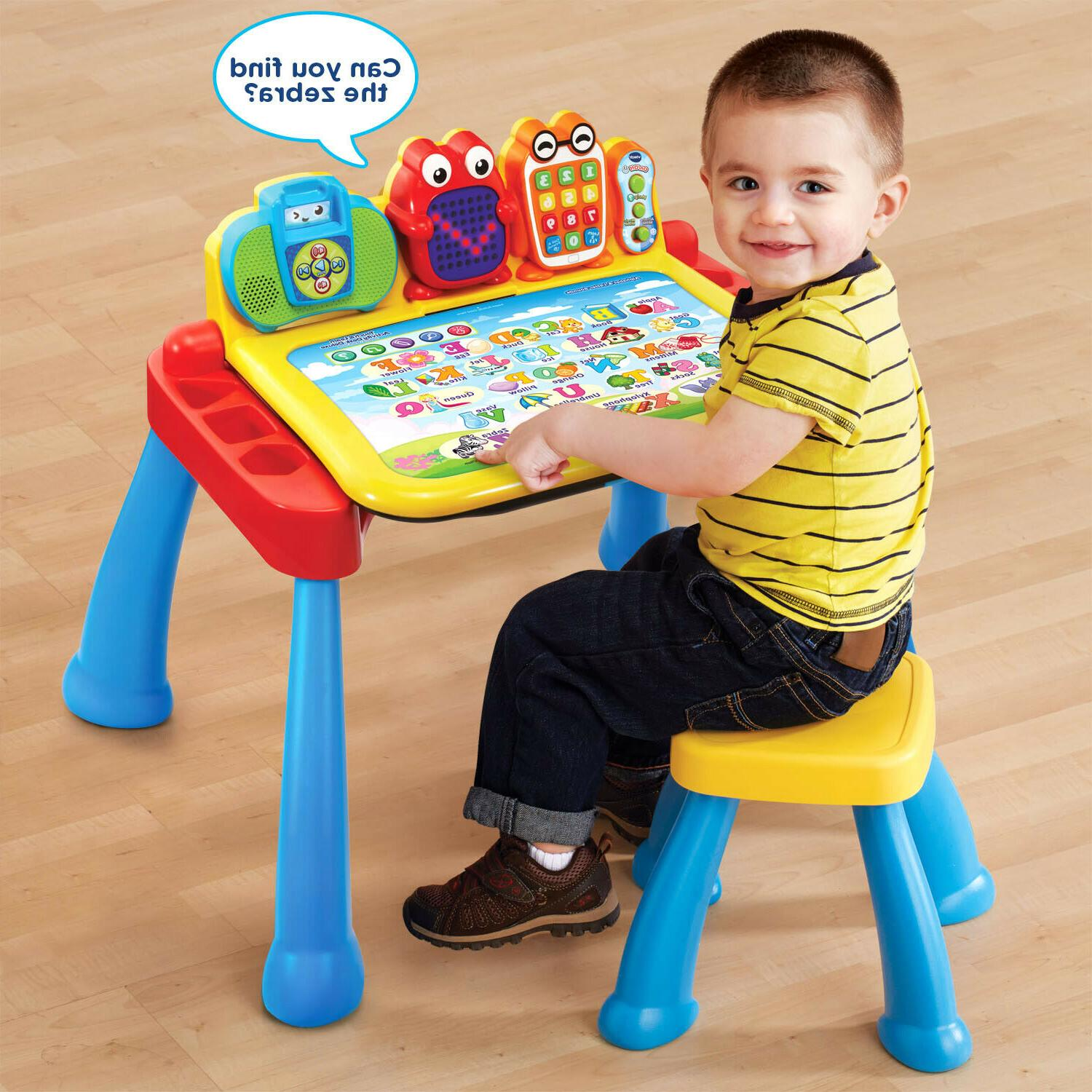 Touch and Learn Activity Desk Deluxe Frustration Free Packag