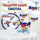 Toy Airplane Decorations Kit