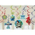 Amscan Toy Story Power Up Birthday Party Hanging Swirl Ceili