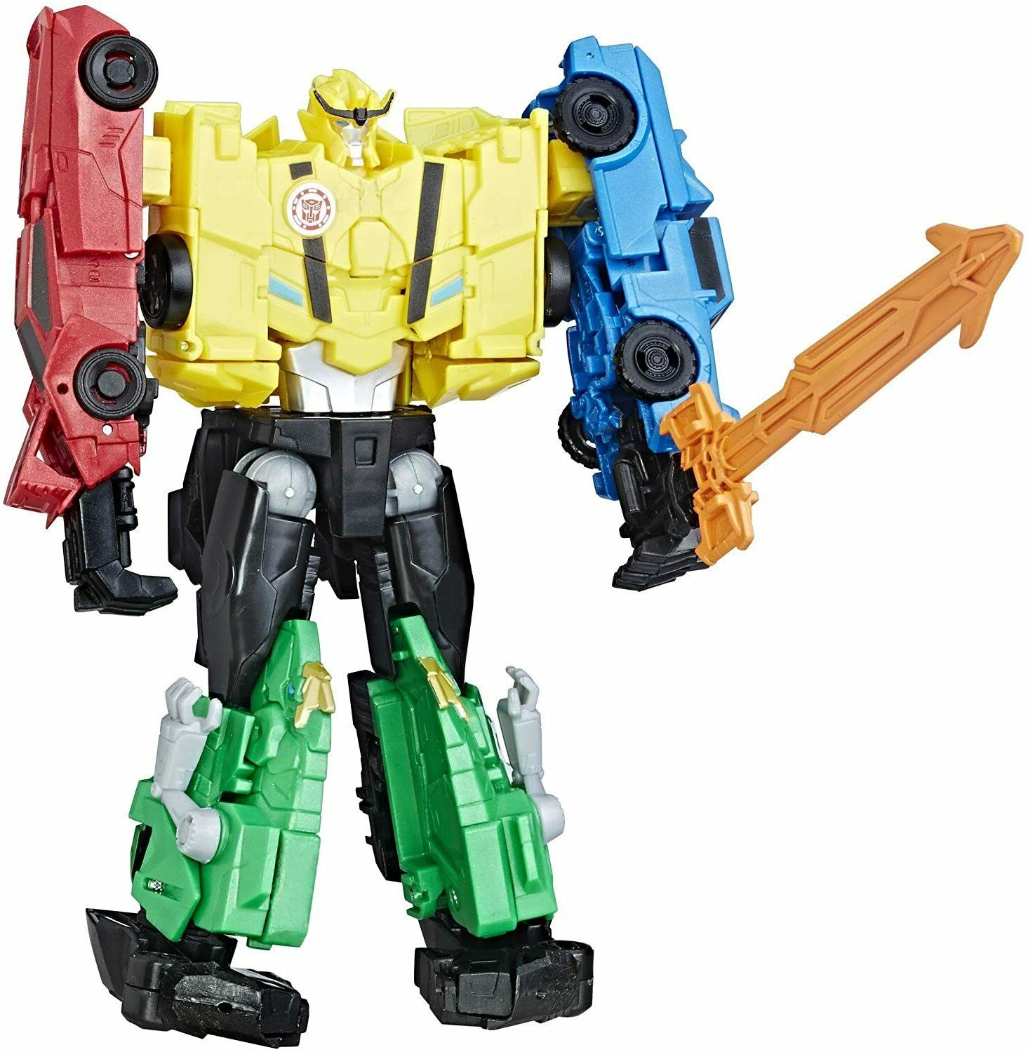 Transformers Combiner Forces Ultra Bee Robots Disguise 4 Figure Set NEW