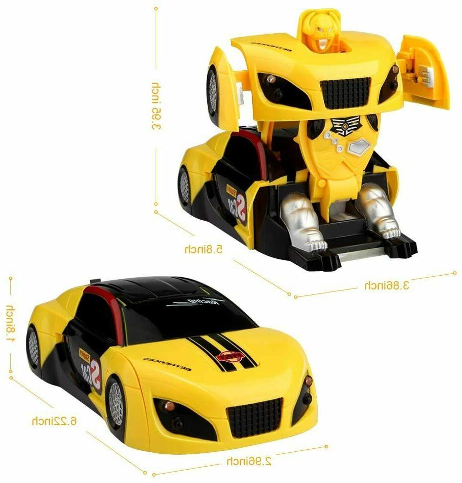 Toys For 5 9 12 Old RC Racing Car Robot Gift