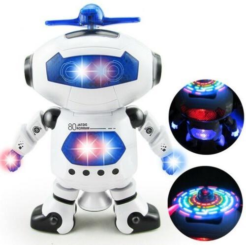 Toys Robot Kids Robot Musical Toy Birthday Xmas Gift