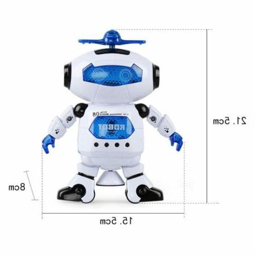 Toys Boys Robot Kids Robot Musical Birthday Xmas Gift