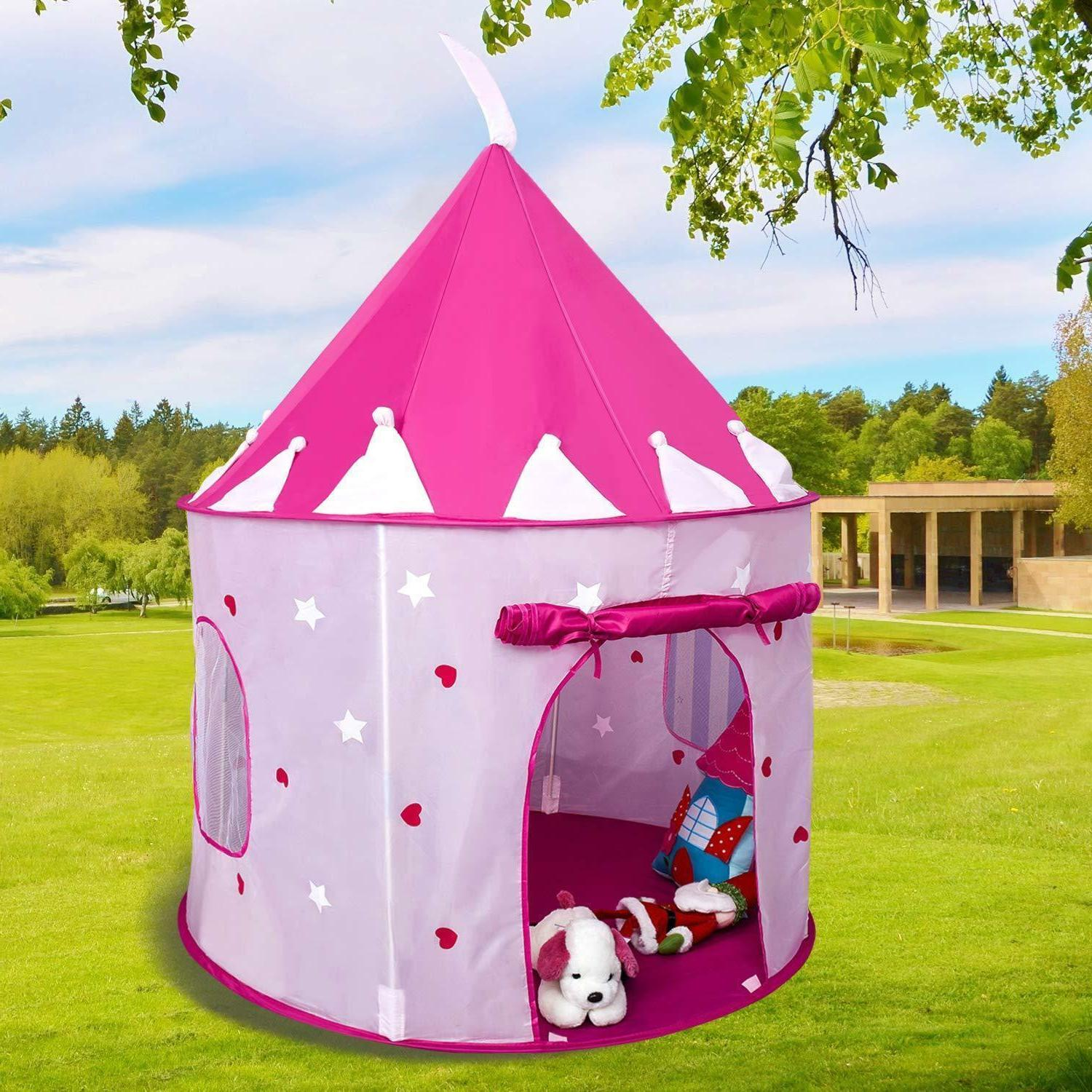 Toys For Girls Kids Children Play Tent House for 4 5 6 10 Years Age