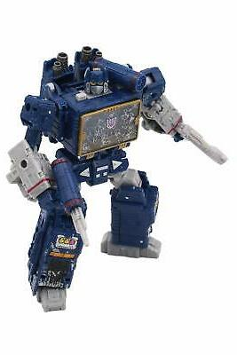 Transformers Toys for Cybertron Voyager Soundwave Act...